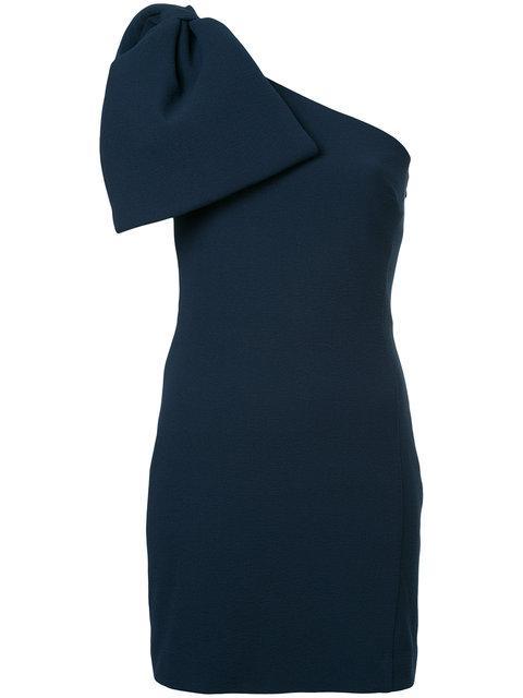4c6bf5621fbf Rebecca Vallance Hamptons Bow Mini Dress In Navy | ModeSens