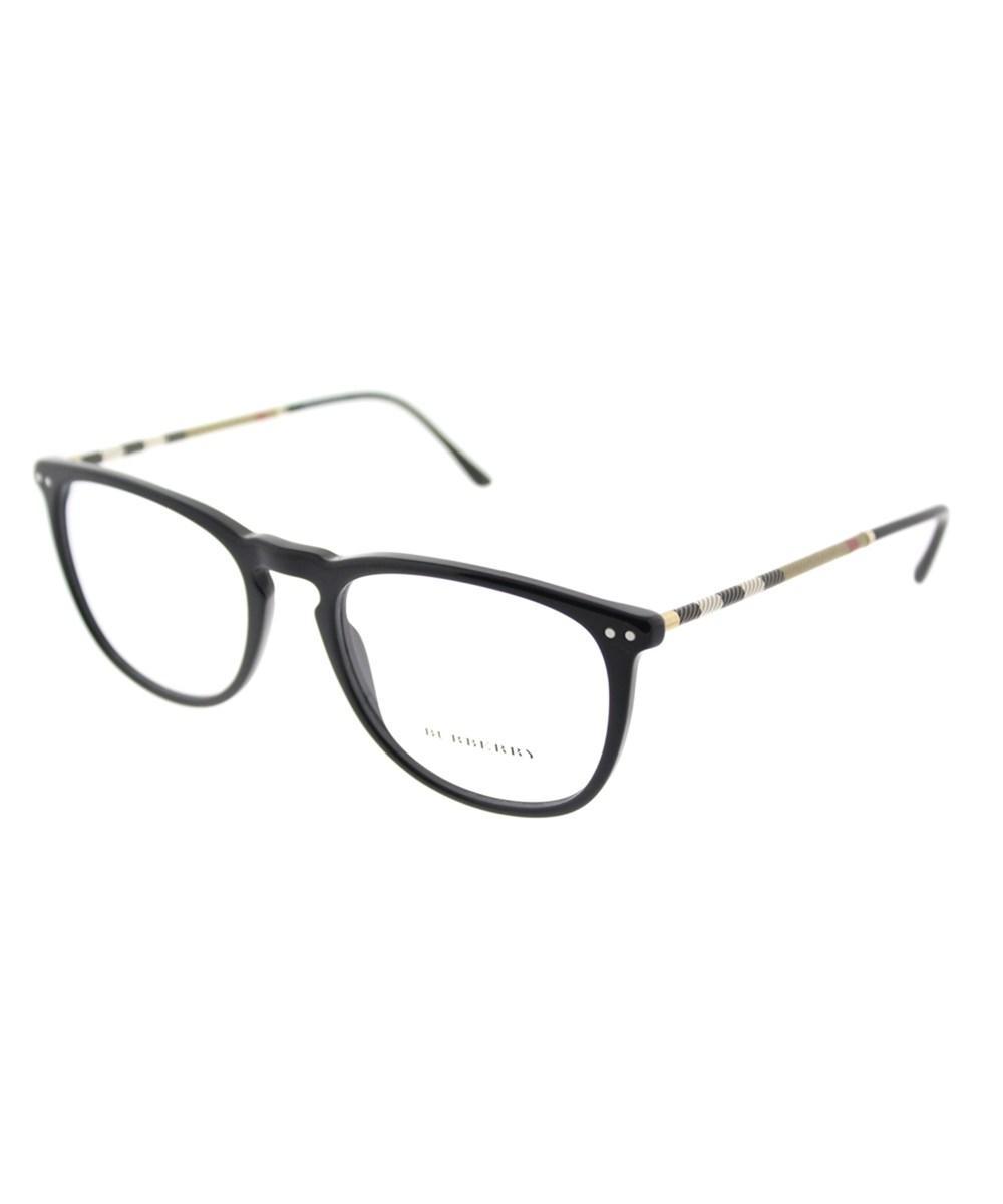 1cbdc0289bde Burberry Be 2258Q 3001 53Mm Black Square Eyeglasses   ModeSens
