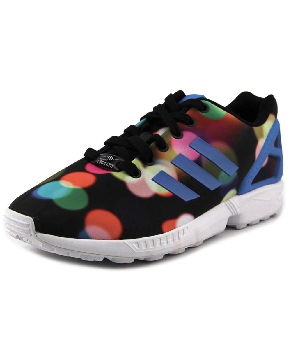 online retailer 484c1 5c51d Adidas Zx Flux Round Toe Synthetic Sneakers in Multiple Colors