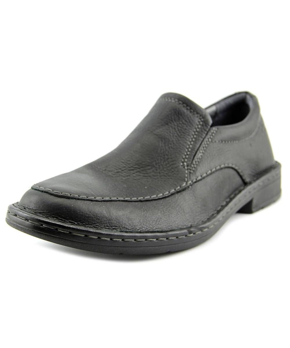 specialavsnitt grossist- prestanda sportkläder Clarks Narrative Kyros Free Men Round Toe Leather Black Loafer ...