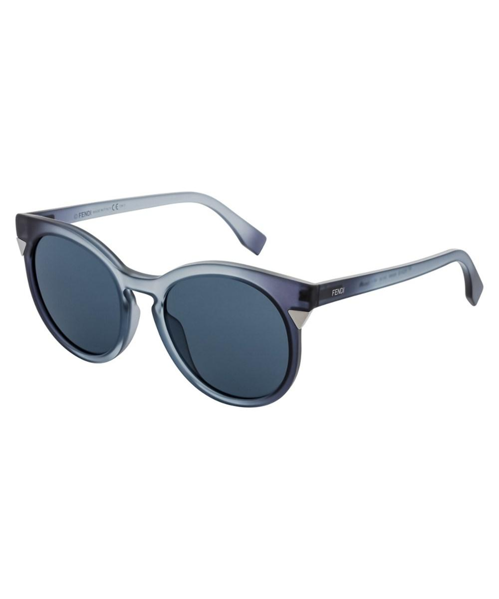 Fendi Women's 0124 52mm Sunglasses In Blue