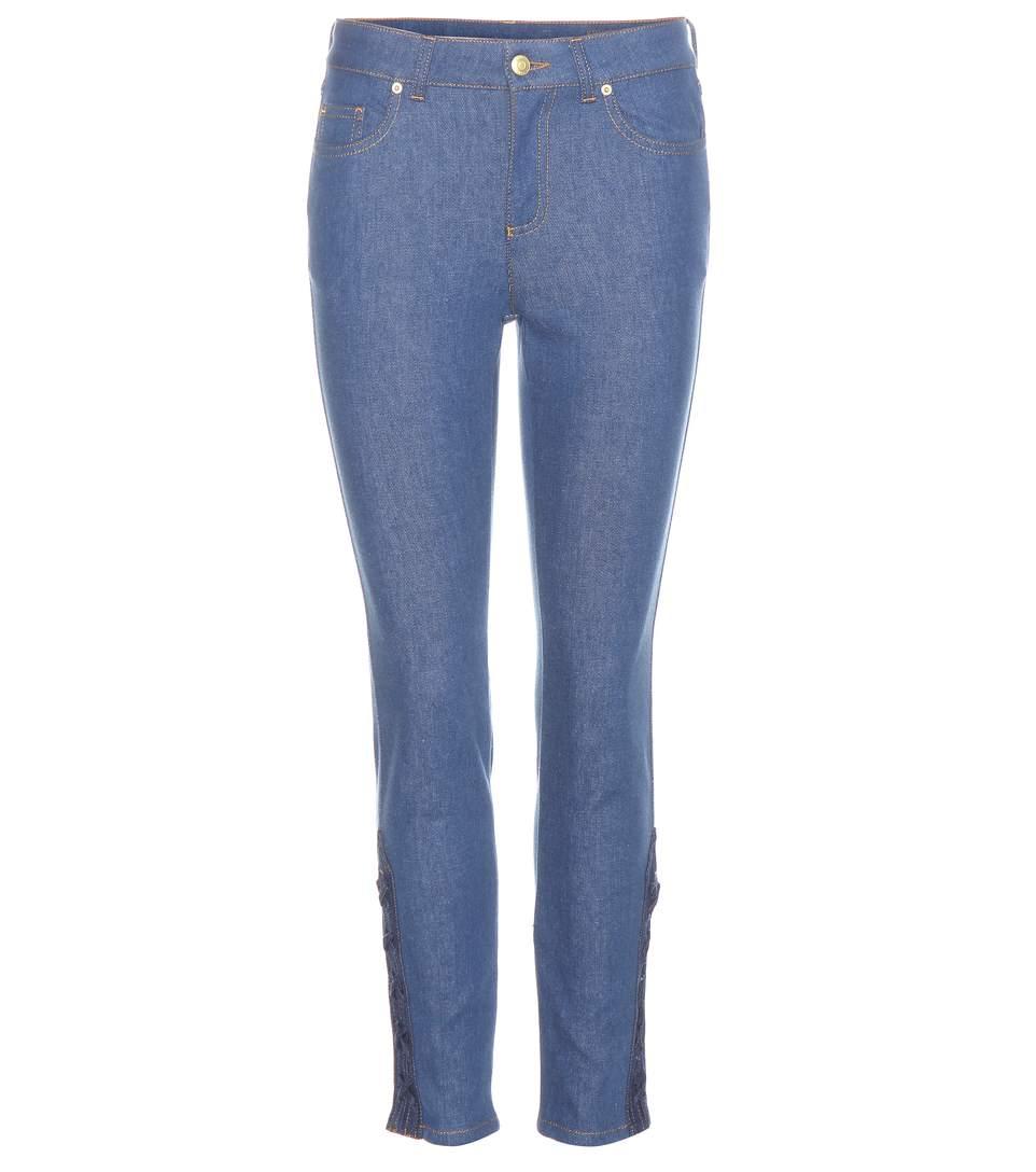 Alexander Mcqueen High-rise Jeans