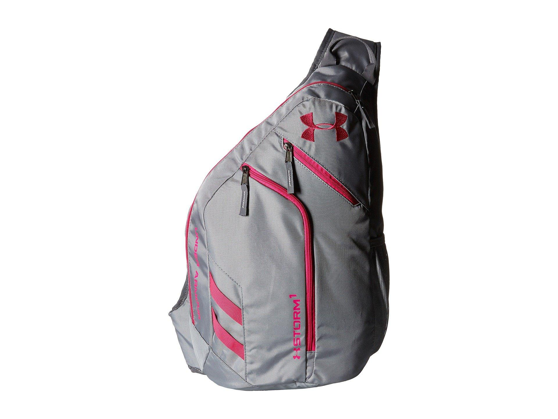 8dec5e06511c Under Armour Ua Compel Sling Ii In Steel Graphite Tropic Pink