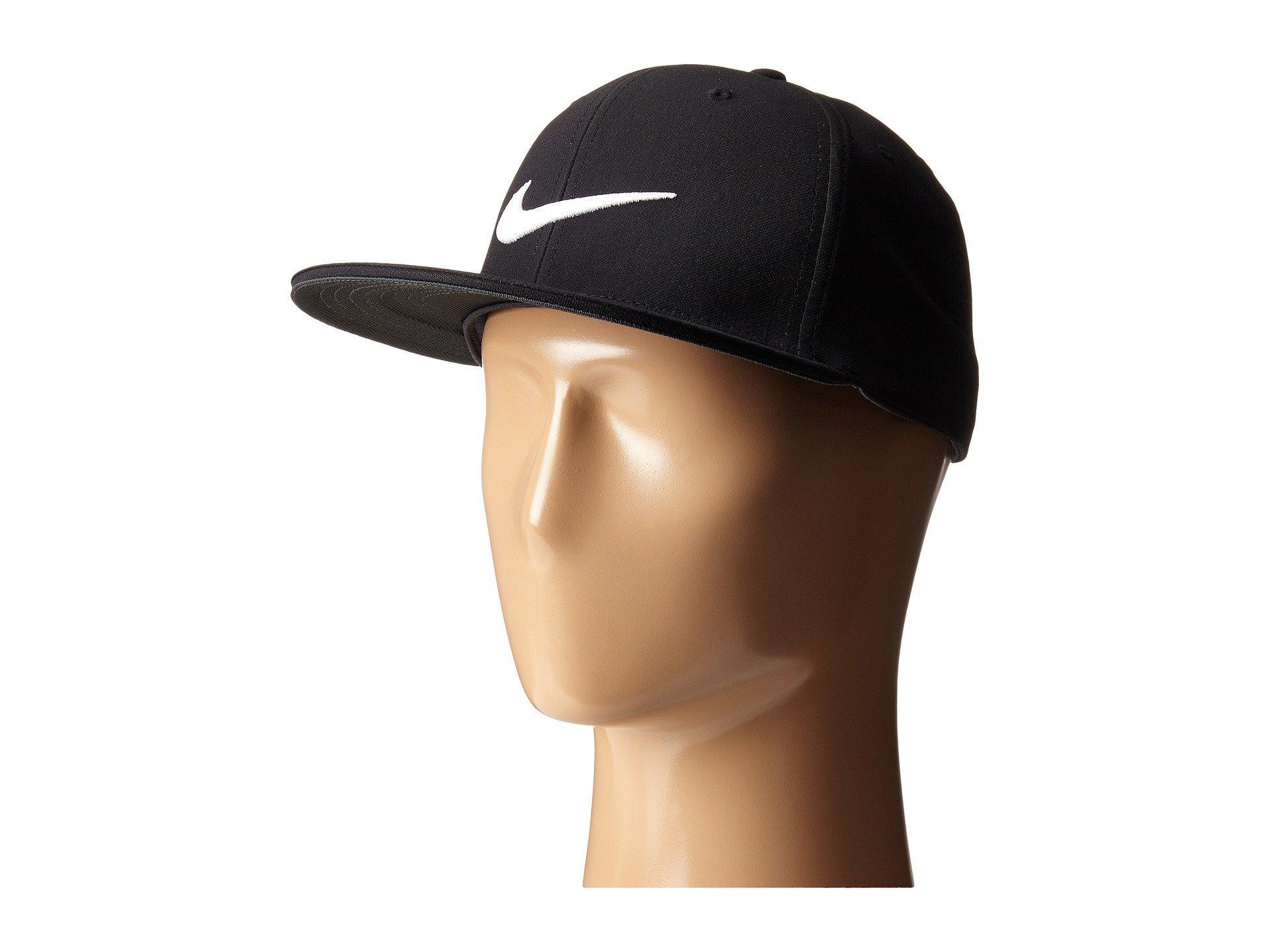 Nike True Tour Cap In Black/White/White
