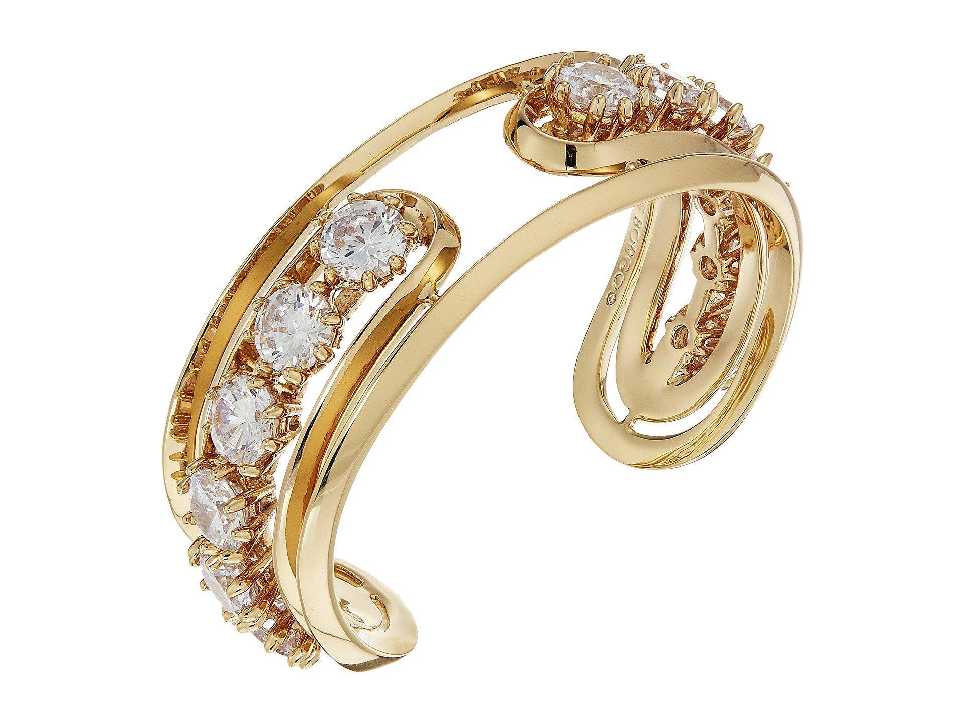 Eddie Borgo Estate Pop Cuff Bracelet In Gold