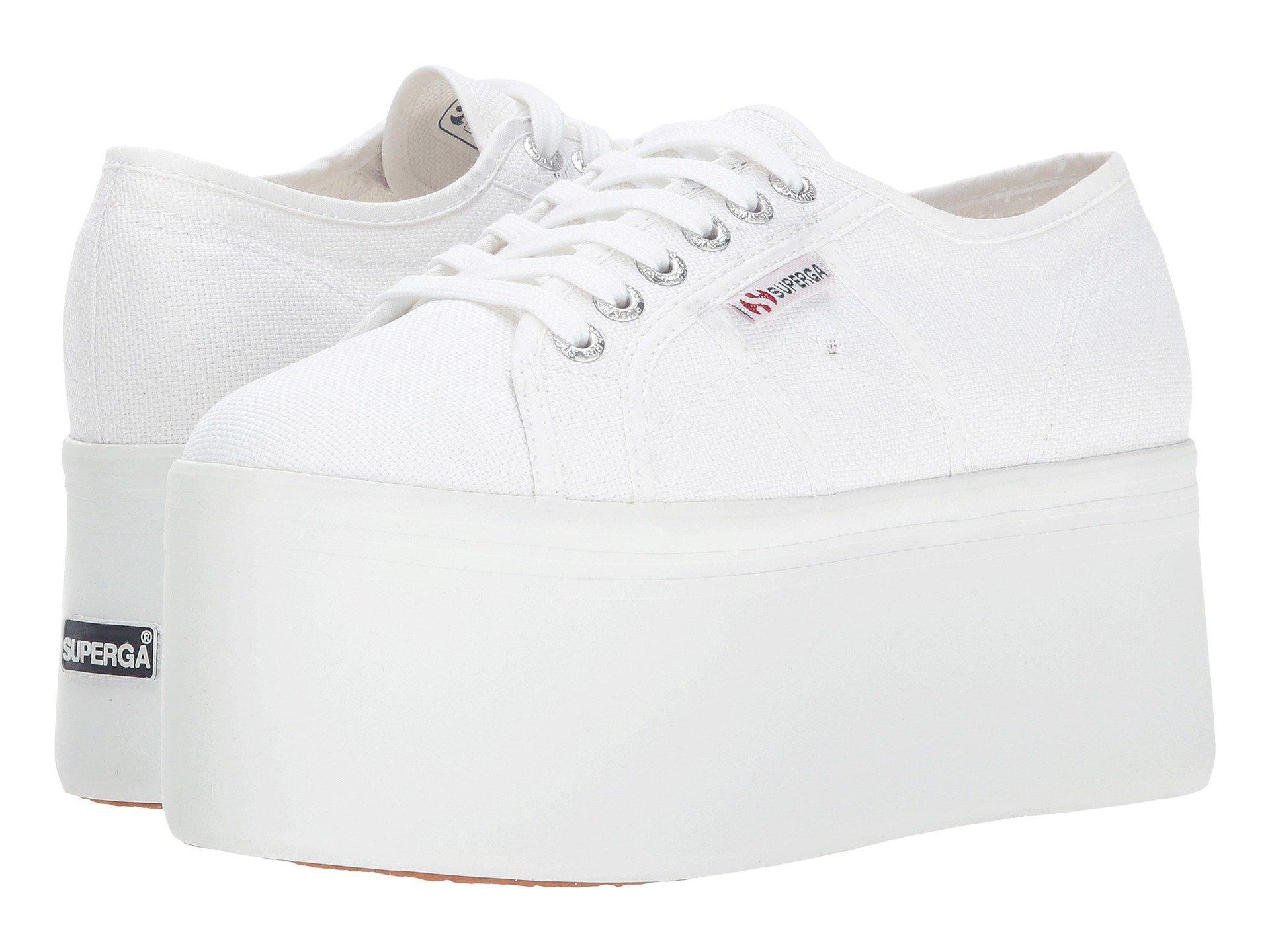 b006d863fe3 Superga 2802 Super Platform In White