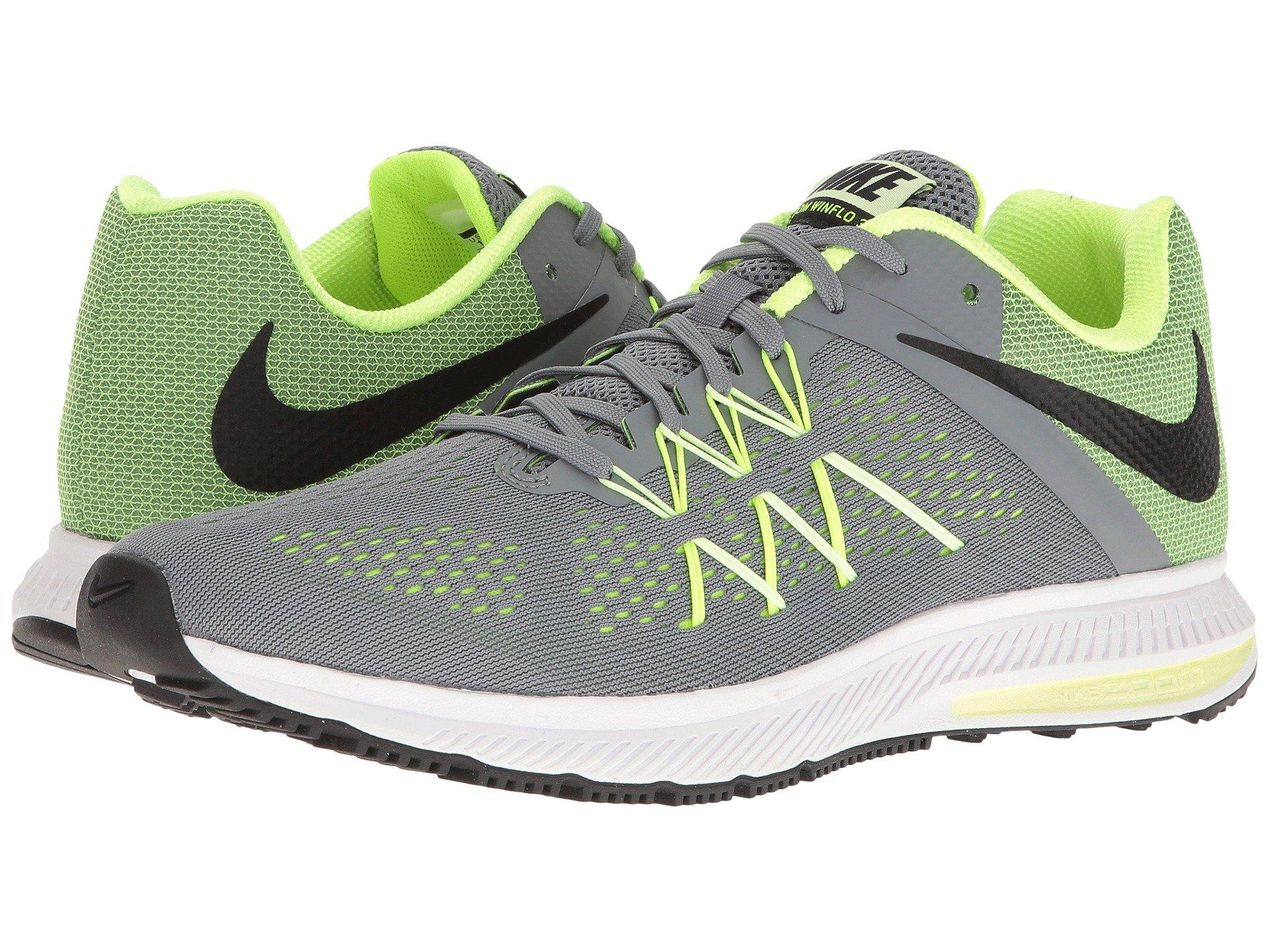 e42c57bab11c Nike Zoom Winflo 3 In Cool Grey Black Volt Barely Volt