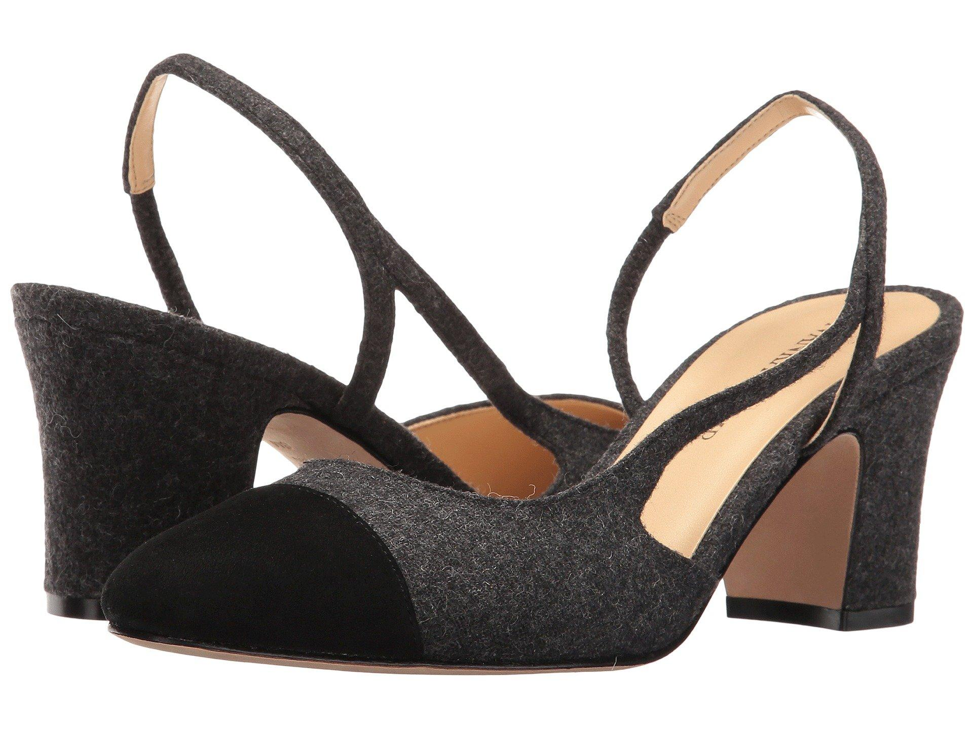 778e0f0de Ivanka Trump Liah Slingback Pumps In Dark Grey/Black | ModeSens
