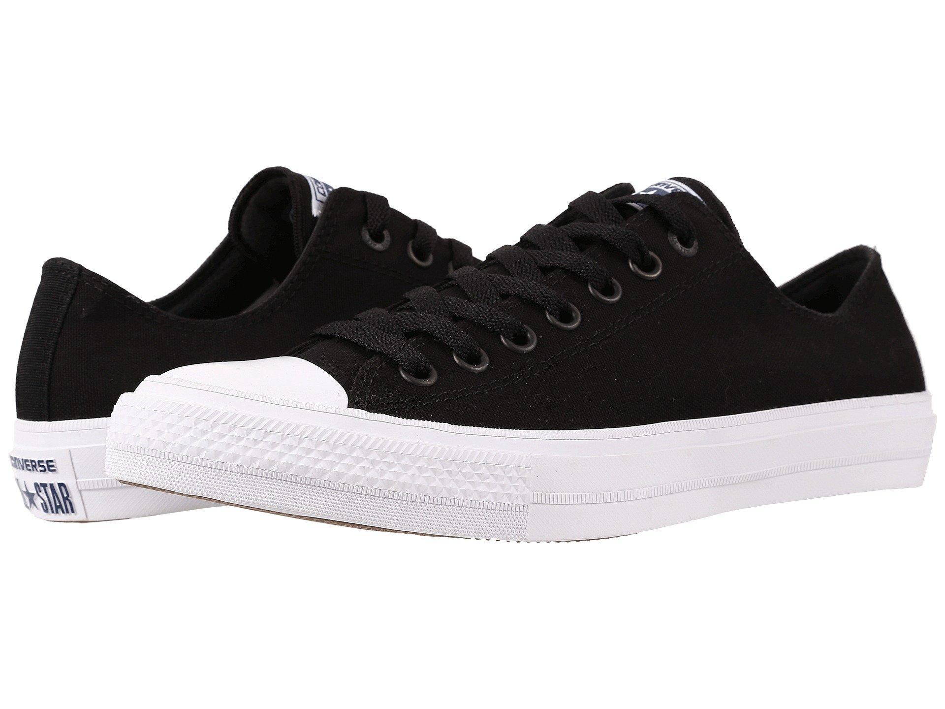 415ca37f98ae Converse Chuck Taylor® All Star Ii Ox In Black White Navy