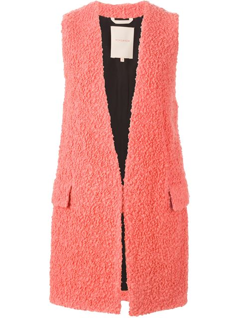 Roksanda Trench Coat In Salmon Pink