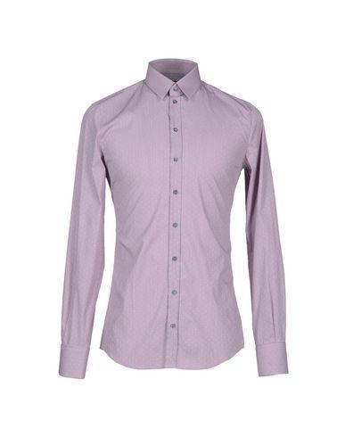 Dolce & Gabbana Checked Shirt In Blue