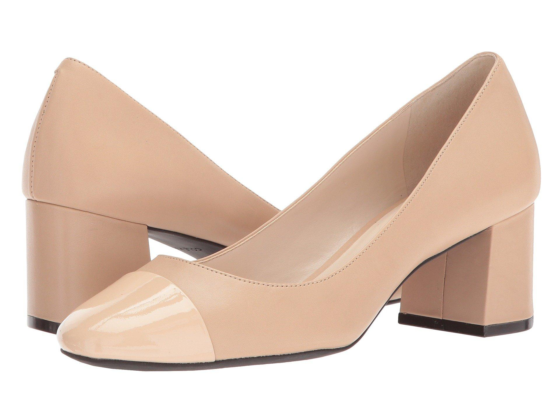 c7db02dbed5 Dawna Grand Pump 55Mm Ii, Nude Leather/Patent