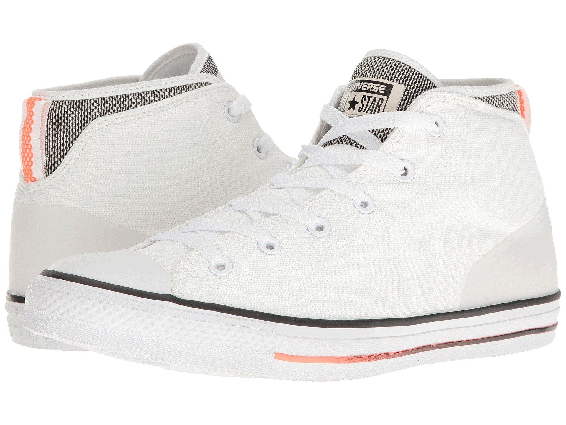 6be84654c47 Converse Chuck Taylor® All Star® Syde Street Summer Mid In White Black