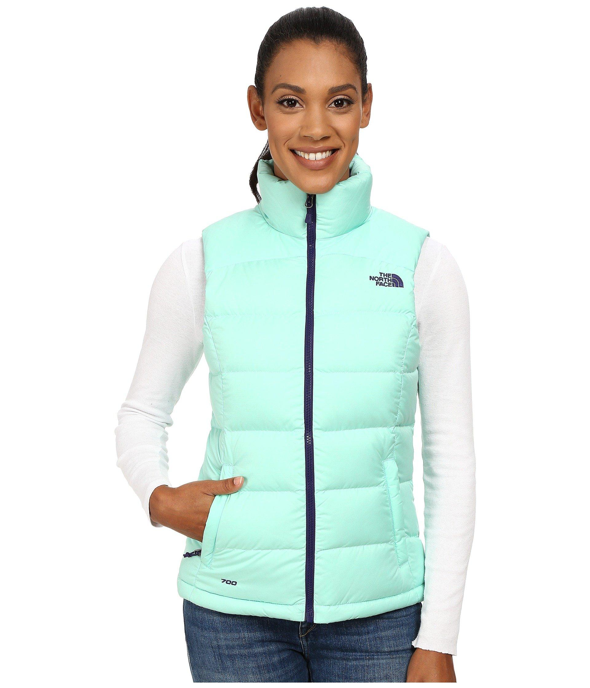 cf2b5091c36a The North Face Nuptse 2 Vest In Surf Green (Prior Season)