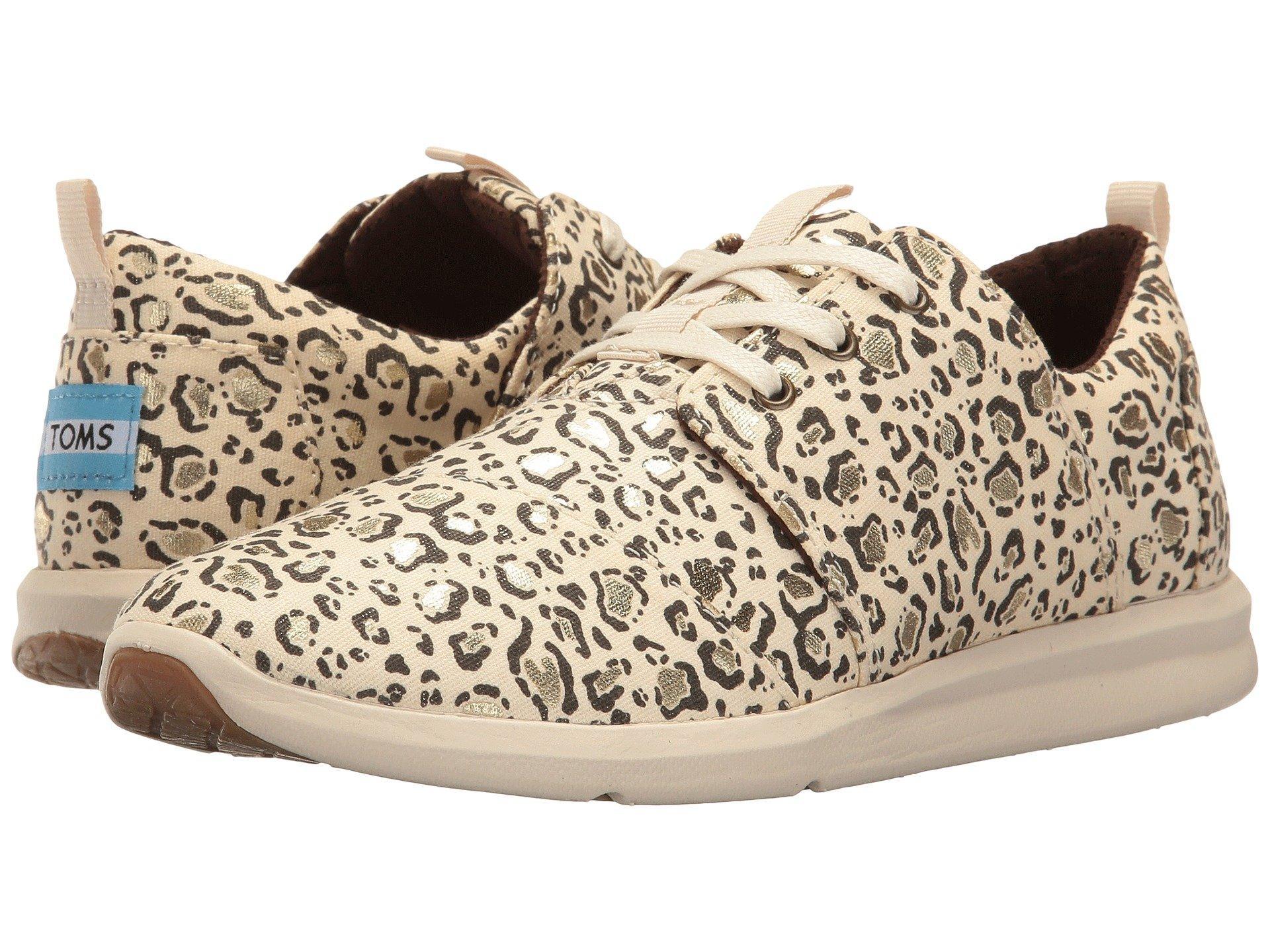 a9289c20829 Toms Del Rey Sneaker, Natural Bobcat/Gold Foil | ModeSens