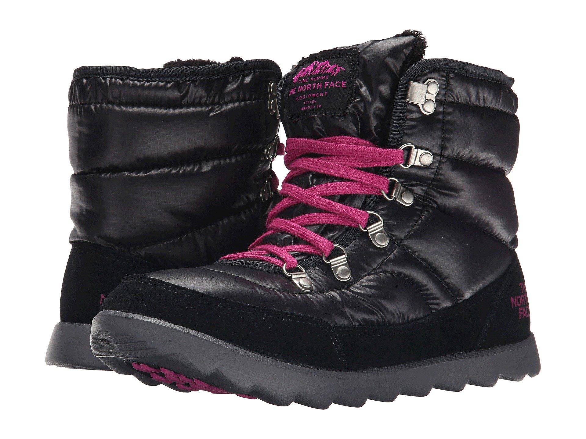 5234315bde4 The North Face Thermoball™ Lace In Shiny Tnf Black Luminous Pink (Prior  Season