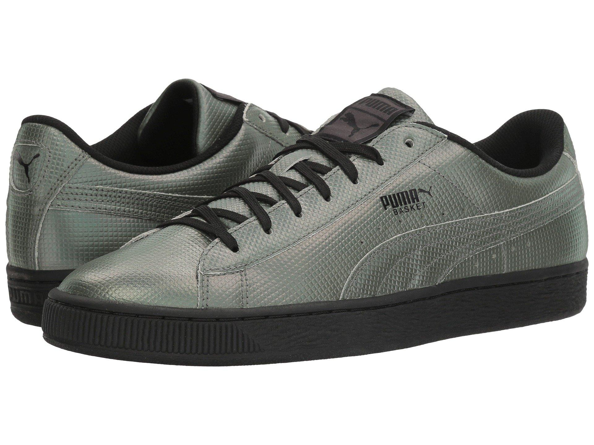 los angeles 23df0 7aab5 Puma Basket Classic Holographic In Black | ModeSens