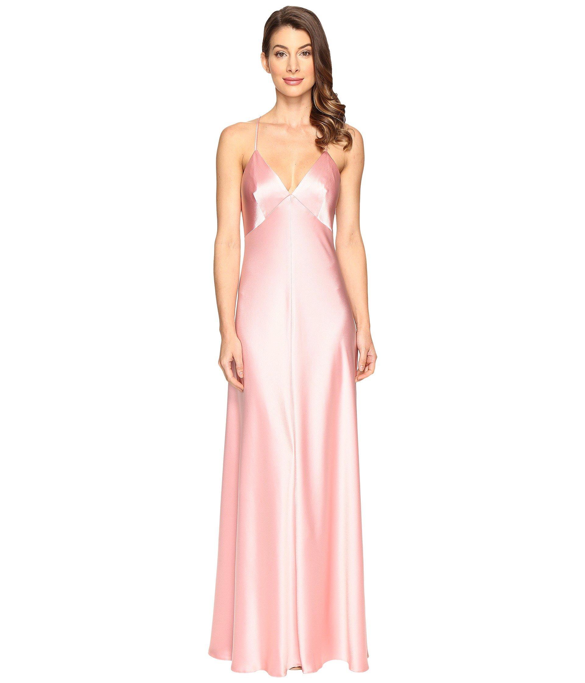 9a035f14b941 Jill Jill Stuart Satin Back Crepe Slip Dress In Peach Blossom | ModeSens