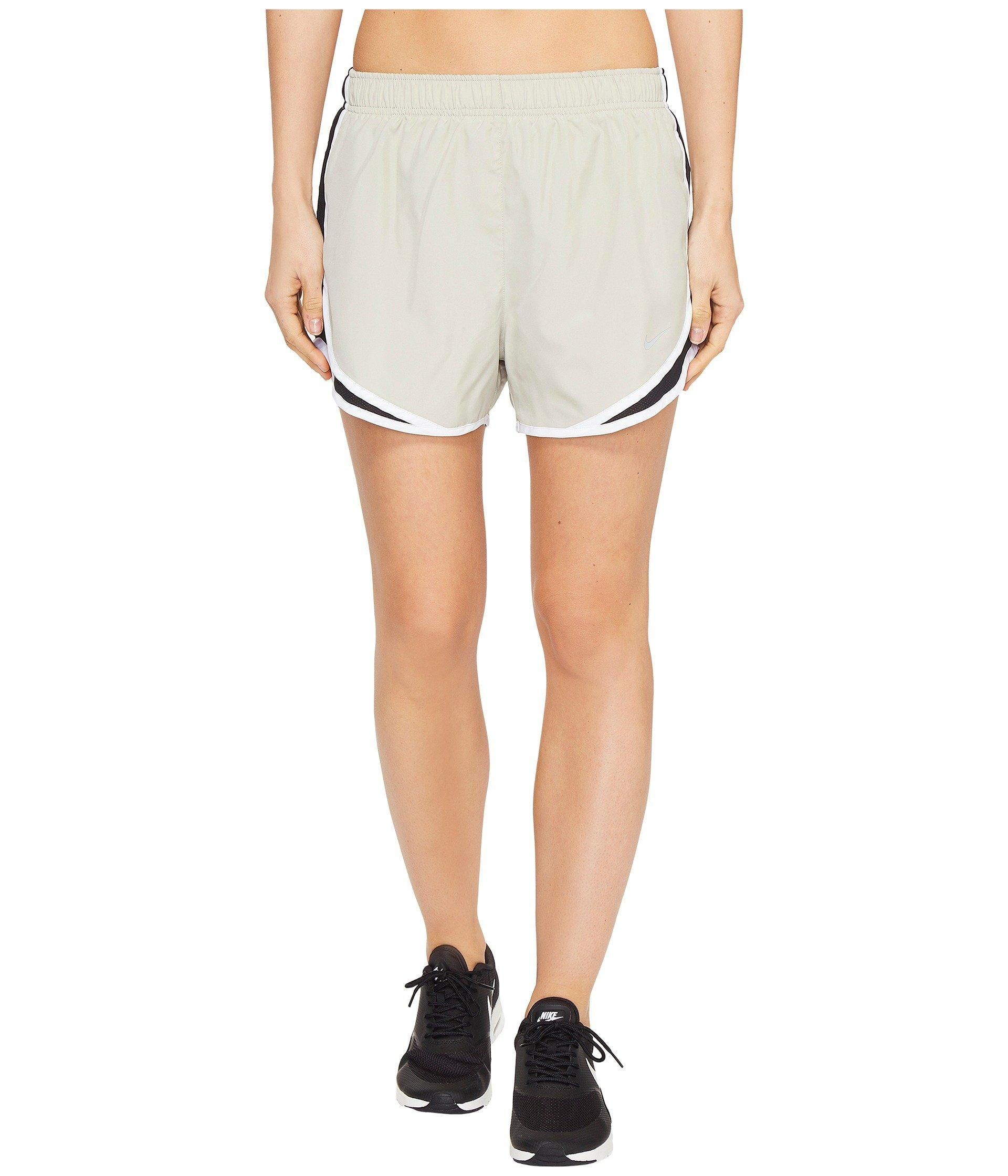 Nike Dry Tempo Short In Pale Grey/Black/White/Wolf Grey