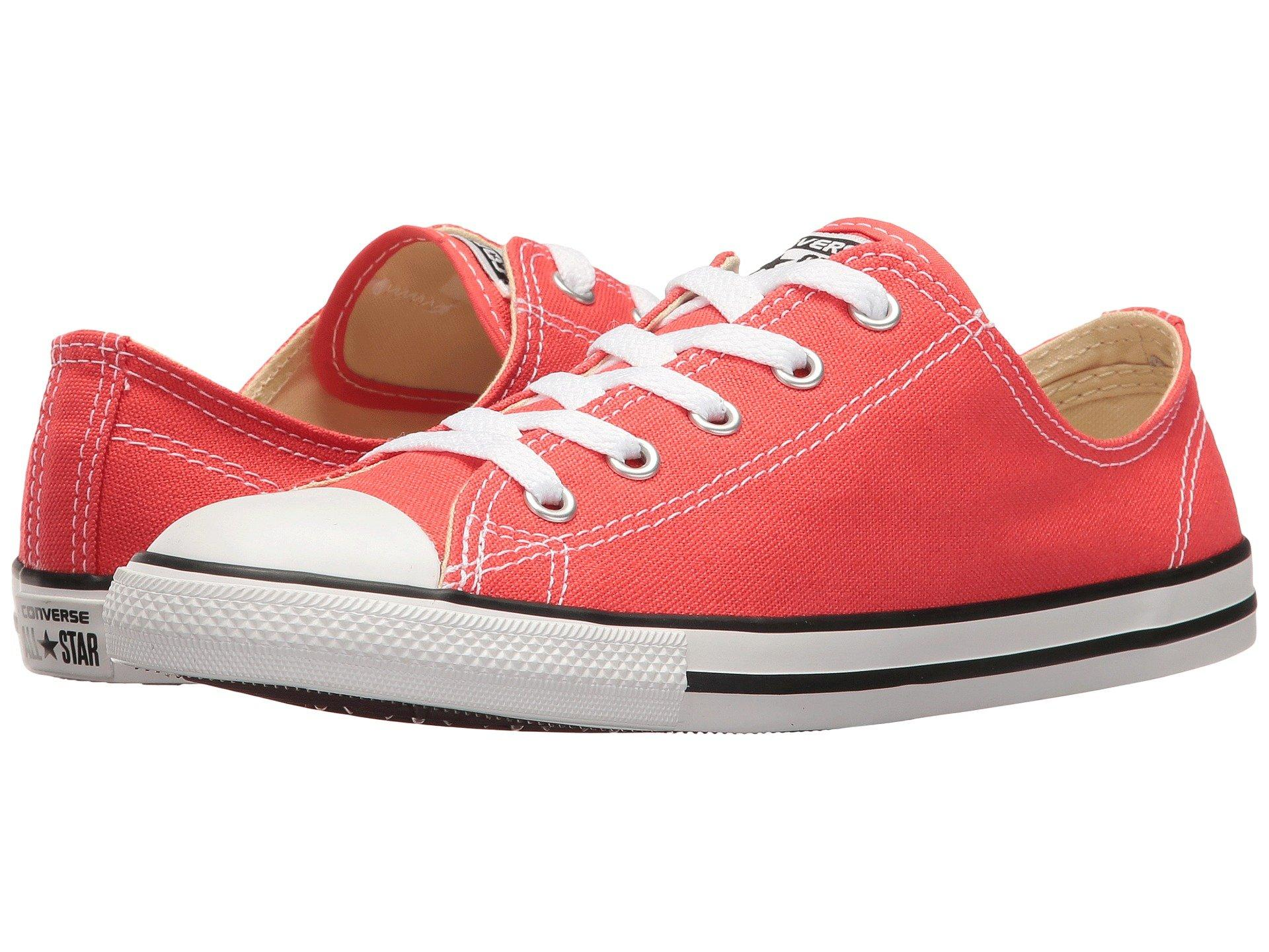 8a589dcbc5a4 Converse Chuck Taylor® All Star® Dainty - Seasonal Ox In Ultra Red Black