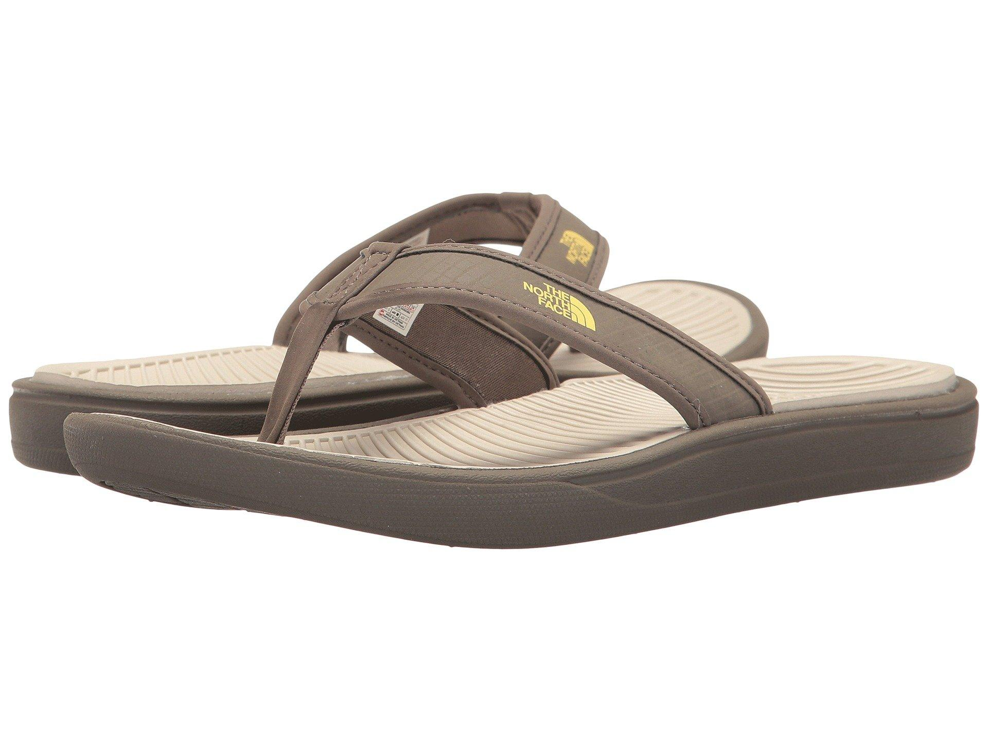 726cf444550e The North Face Base Camp Lite Flip Flop In Falcon Brown/Rainy Day Ivory (
