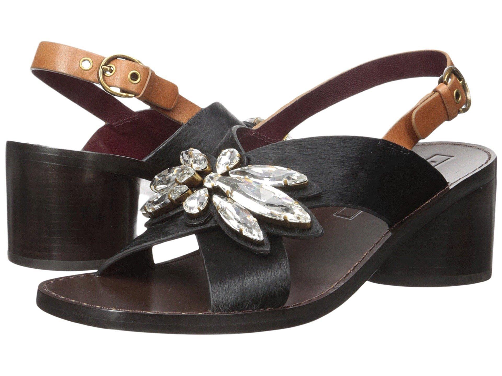 Marc Jacobs Madison Embellished Sandal In Black