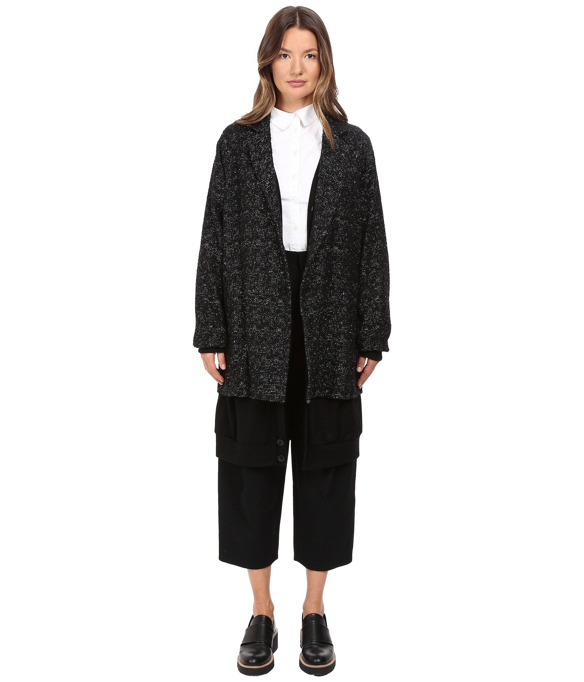 Y's Layered Big Jacket In Black