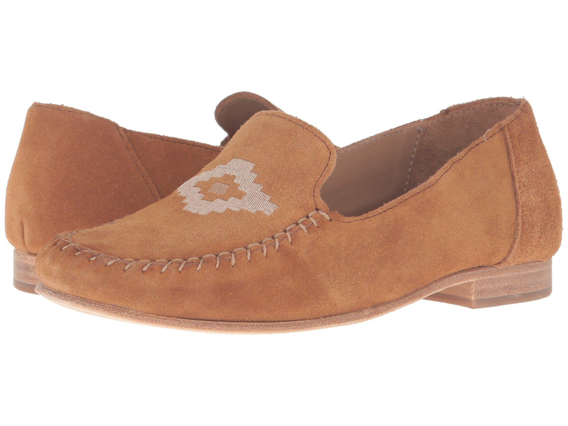 8b0a2b81402 Soludos Loafer Embroidered In Saddle Suede