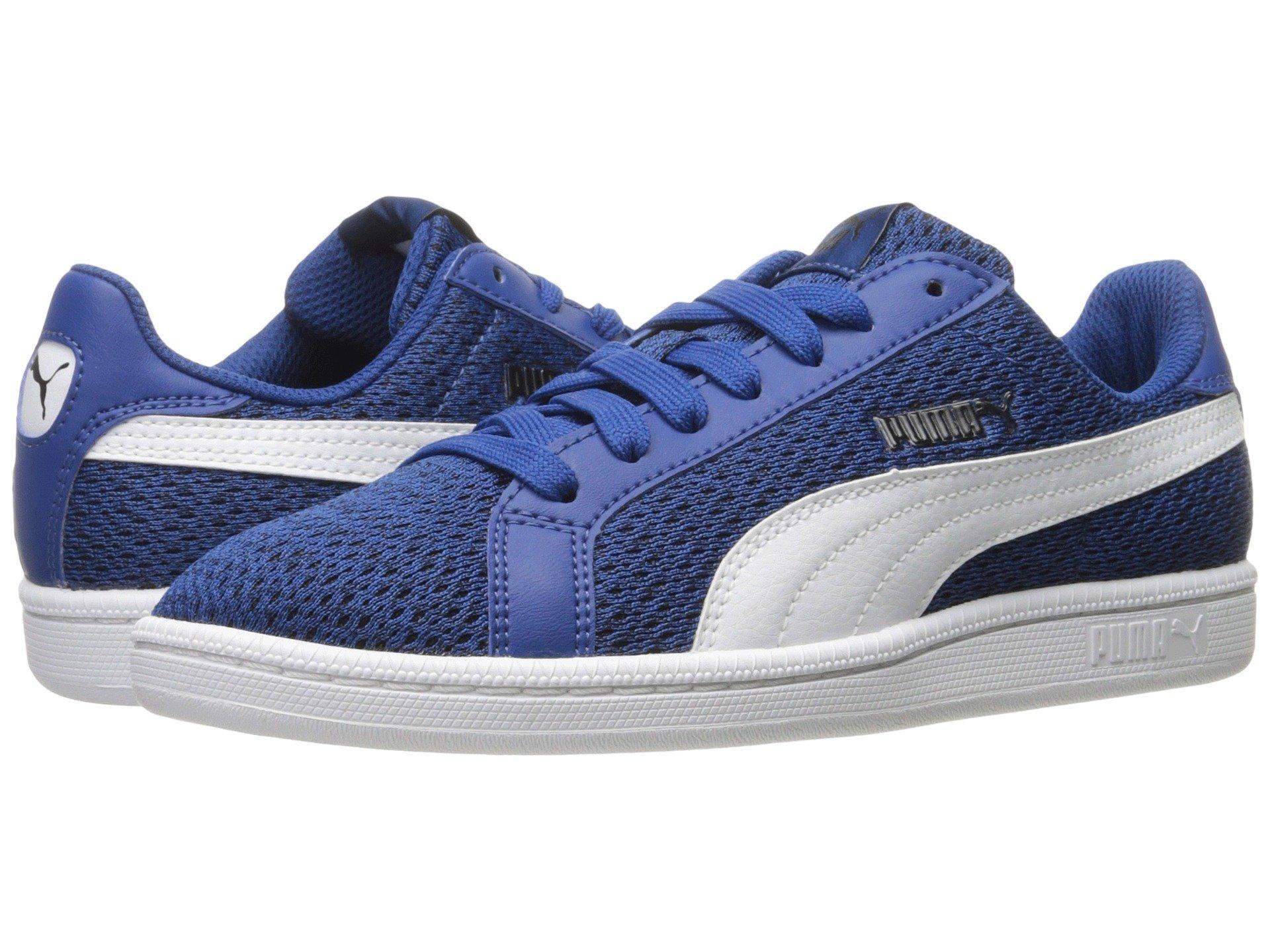 Puma Smash Knit In True Blue/ White