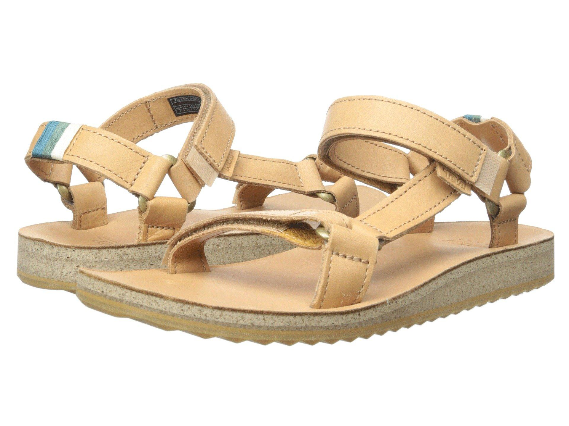 74bbfd668 Teva Original Universal Crafted Leather In Tan