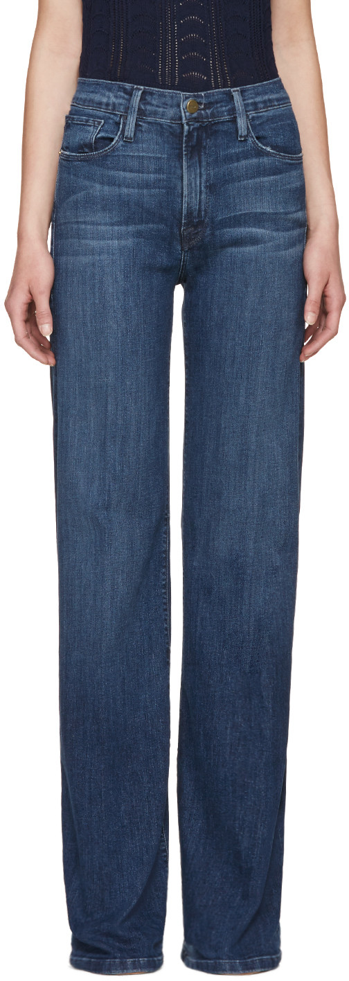 Frame Blue Le Capri Jeans