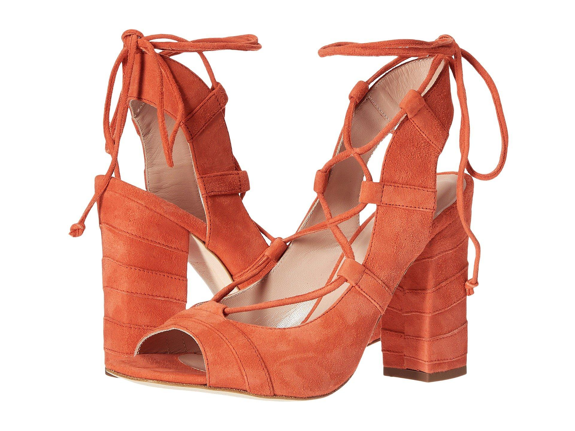 0fe70f513ce Lace-Up Heel