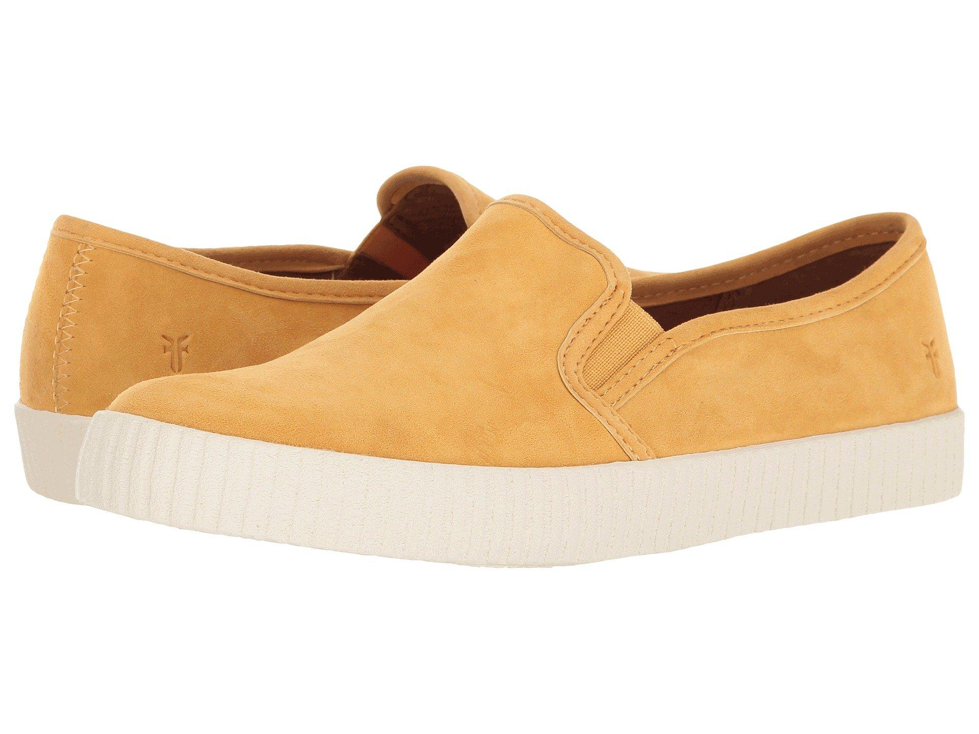 Frye , Yellow Suede