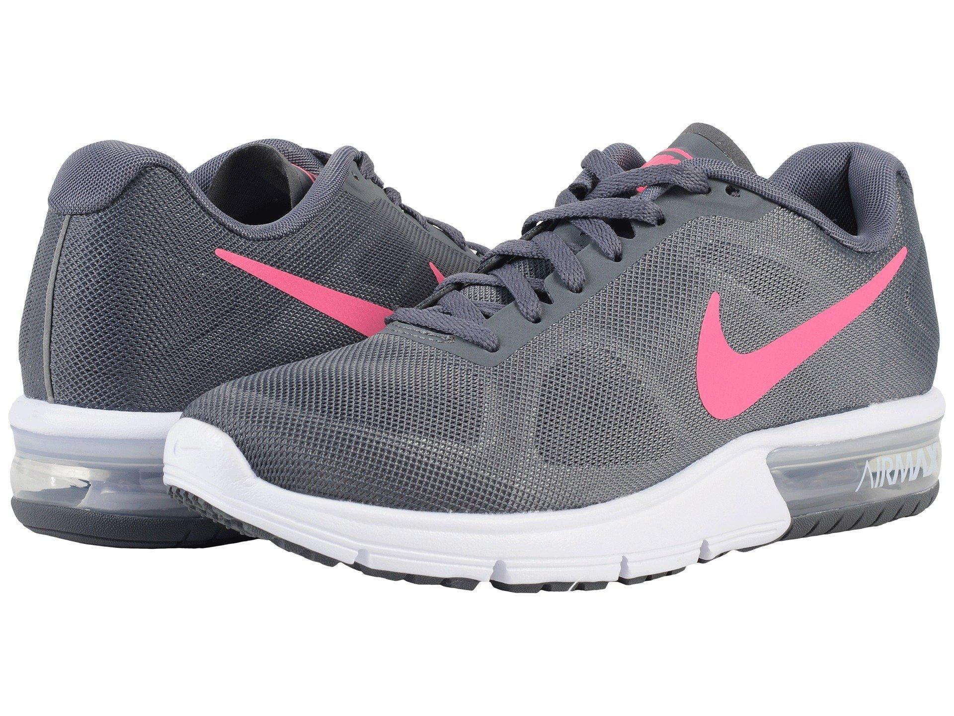 b24f57f87a51 Nike Air Max Sequent In Dark Grey White Black Hyper Pink