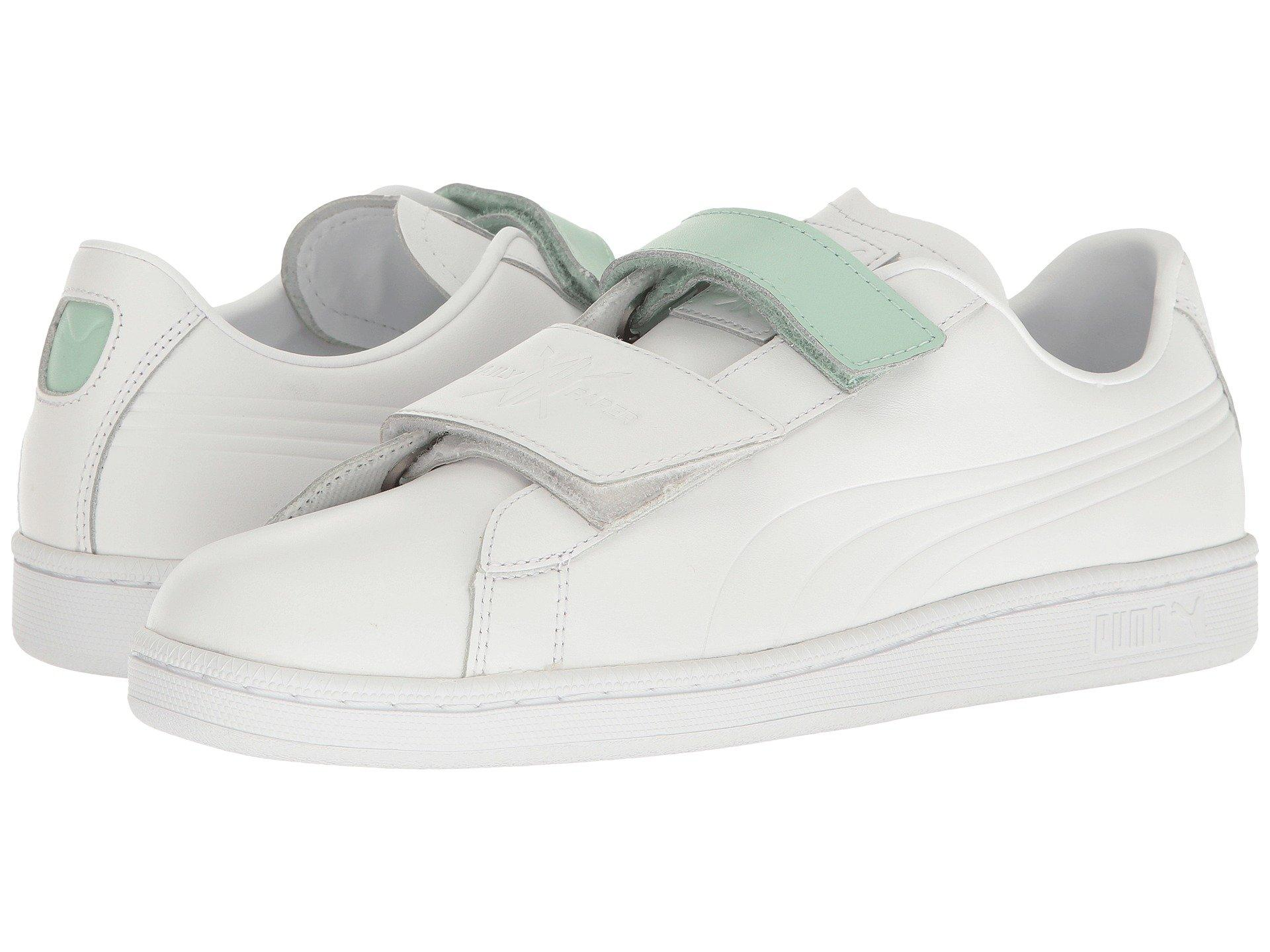 Puma ,  White/ White/Gossamer Green
