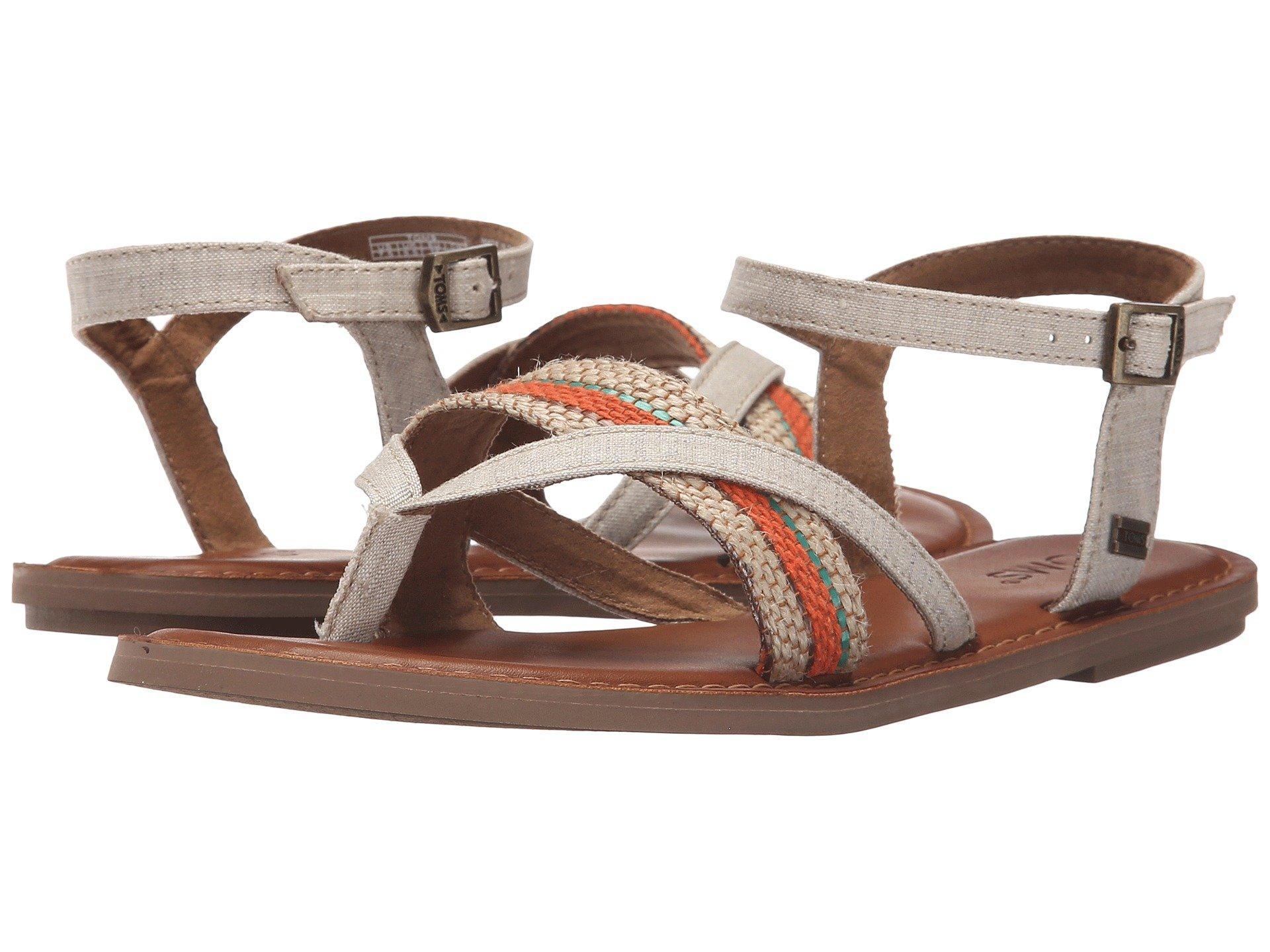 3820a7e06a93 Toms Lexie Sandal In Natural Multi Woven Stripe