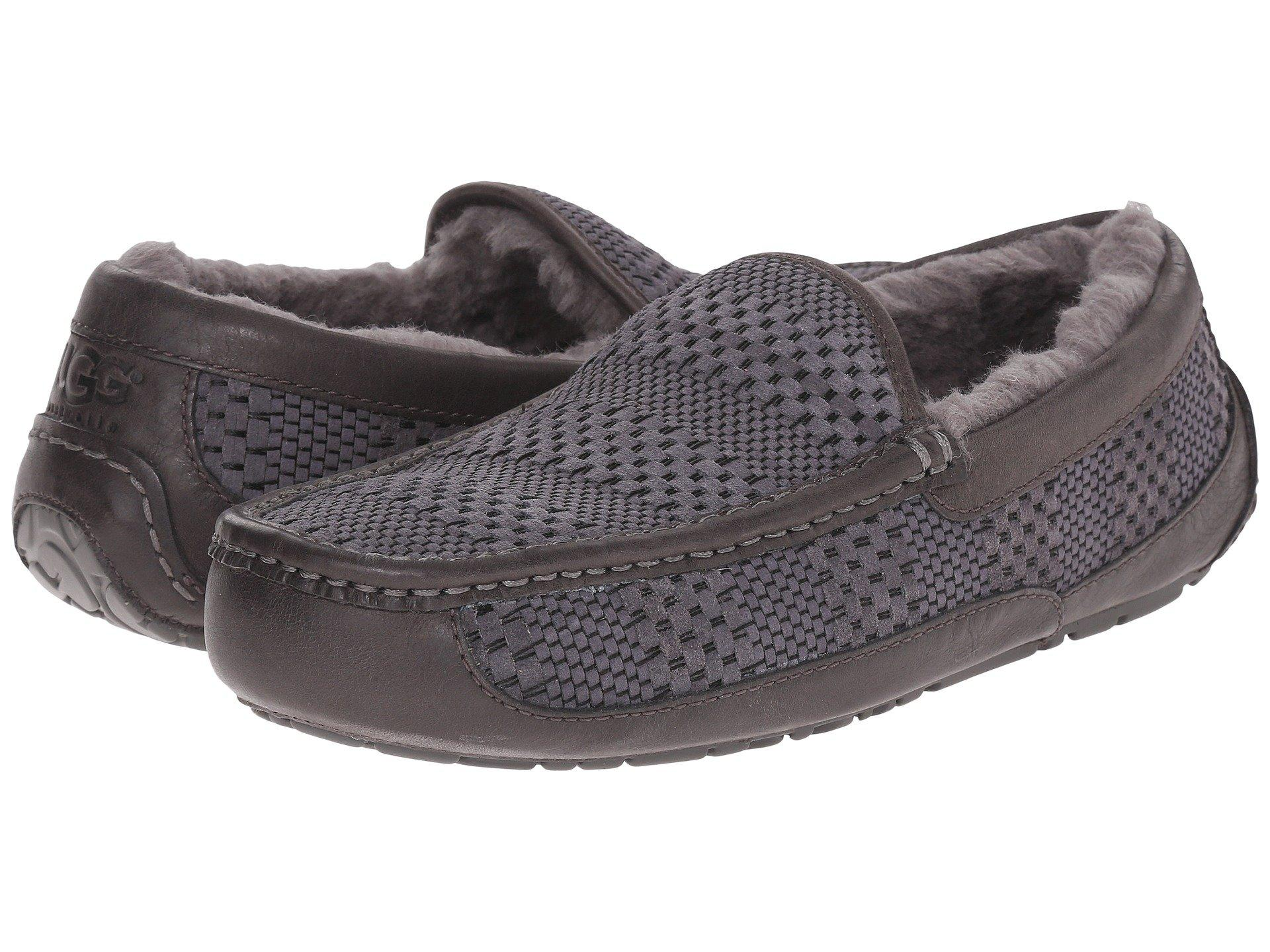 aeecd4246ab Ascot Weave, CHARCOAL SUEDE