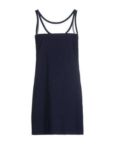 Moschino Short Dress In Slate Blue