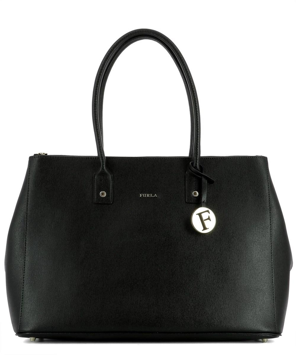 Furla Women's  Black Leather Tote