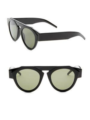 Smoke X Mirrors X Fiorucci Atomic3 Round Sunglasses In Matte Black