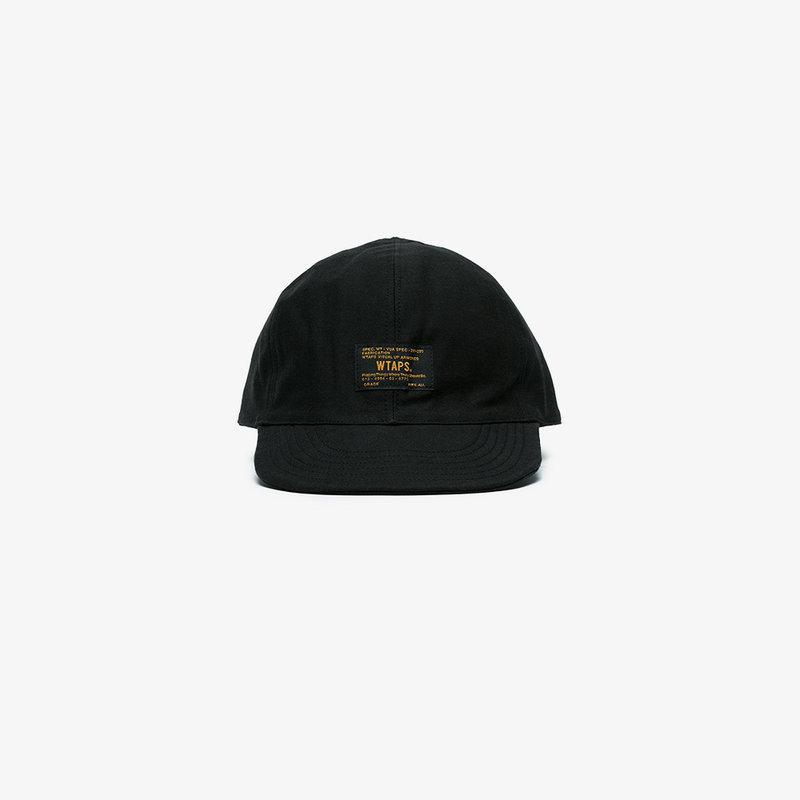 8fa0ea1197a80 Wtaps A3 Logo Cap In Black