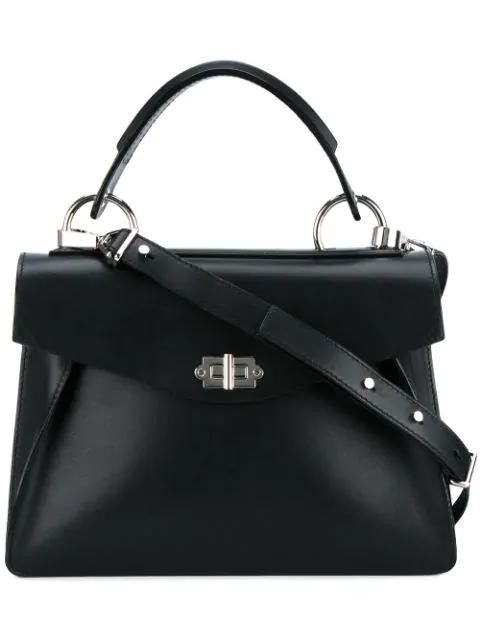 Proenza Schouler Medium Hava Top Handle In Black