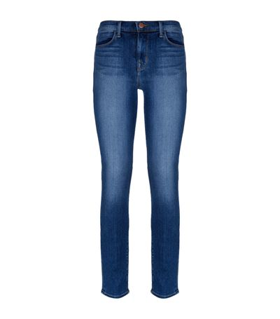 J Brand 811 Skinny Jeans In Surrey Lane In Covert