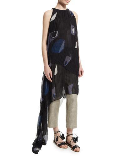 Adam Lippes Asymmetric Layer Dress