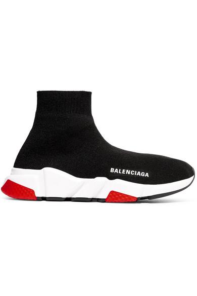 7956a2b726ea Balenciaga Men. BALENCIAGA. Men s Speed Mid-Top Trainer Sock Sneakers