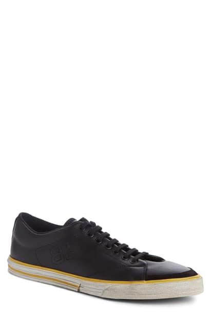 Balenciaga Match Canvas Sneakers - Black