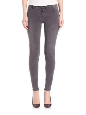 J Brand Photo Ready Mid-rise Super Skinny Jeans In Nightbird