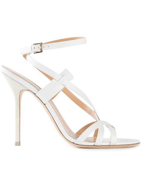 Dsquared2 Strappy Sandals In White