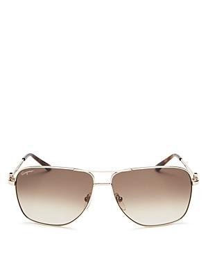 afa1028a2b69a Salvatore Ferragamo Men. SALVATORE FERRAGAMO. Men s Signature Metal  Navigator Sunglasses ...