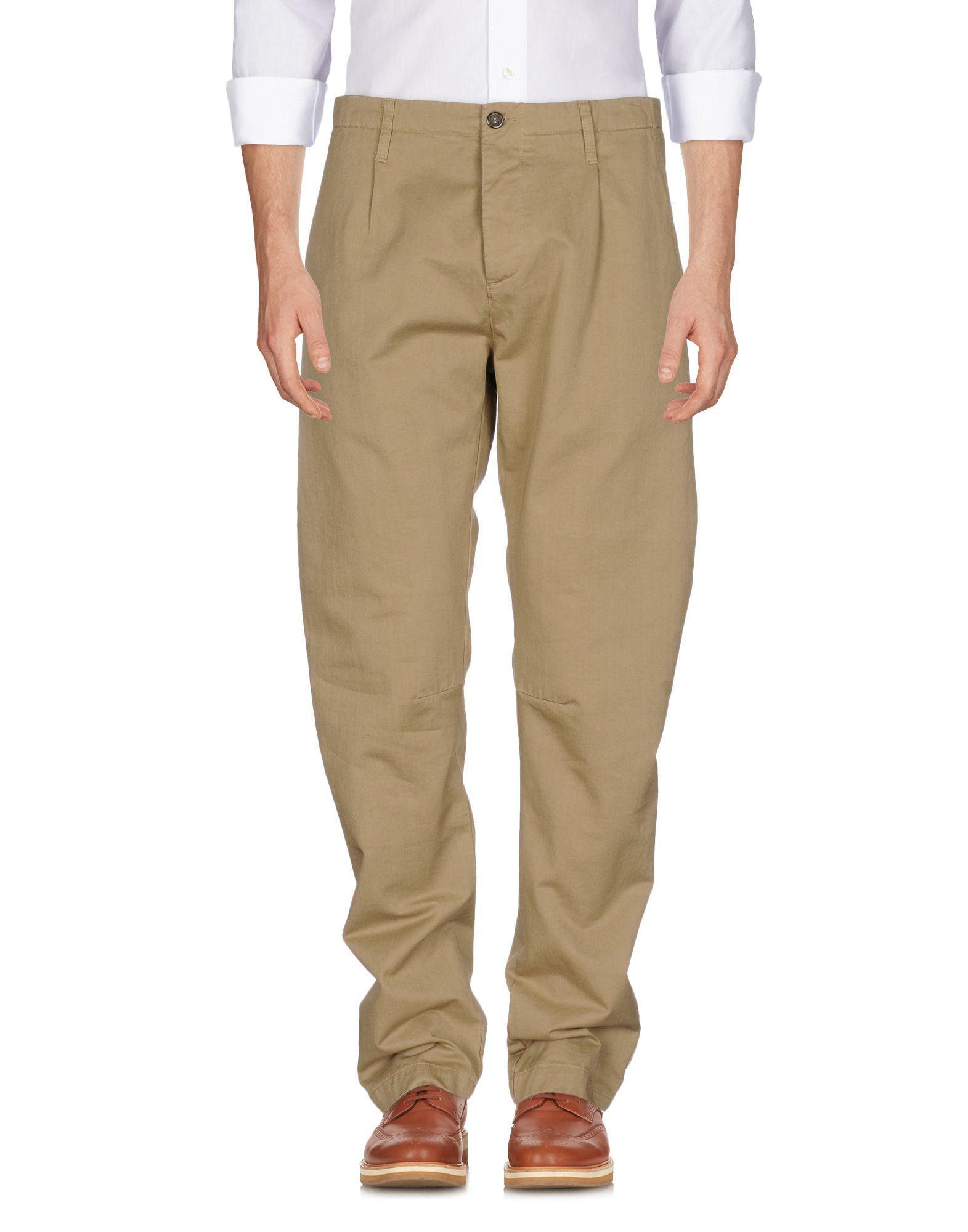 Novemb3r Casual Pants In Beige